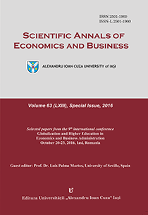 View Vol. 63 (2016): SPECIAL ISSUE - SELECTED PAPERS FROM THE 9TH INTERNATIONAL CONFERENCE GEBA 2016