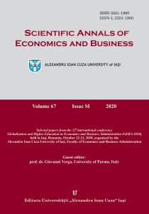 View Vol. 67 (2020): Selected papers from the 12th international conference Globalization and Higher Education in Economics and Business Adminstration (GEBA 2020) (2020)